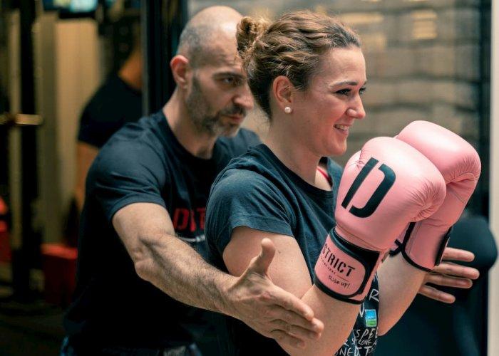 cours de boxe entreprise, ma vie en sport